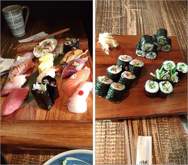 Photos de sushi ennuyeuses
