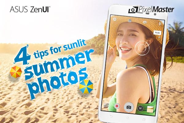 Photos d'été zenfone vacances plage