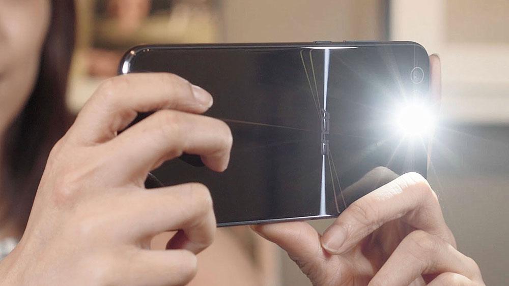 Zenfone 4 appareil photo flash