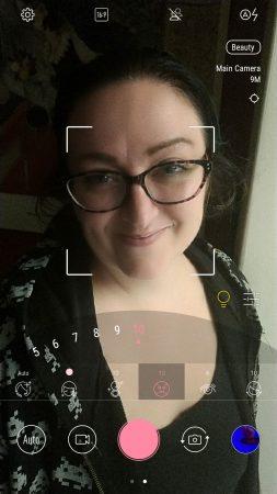 Mode retouche d'image portrait photo zenfone 4