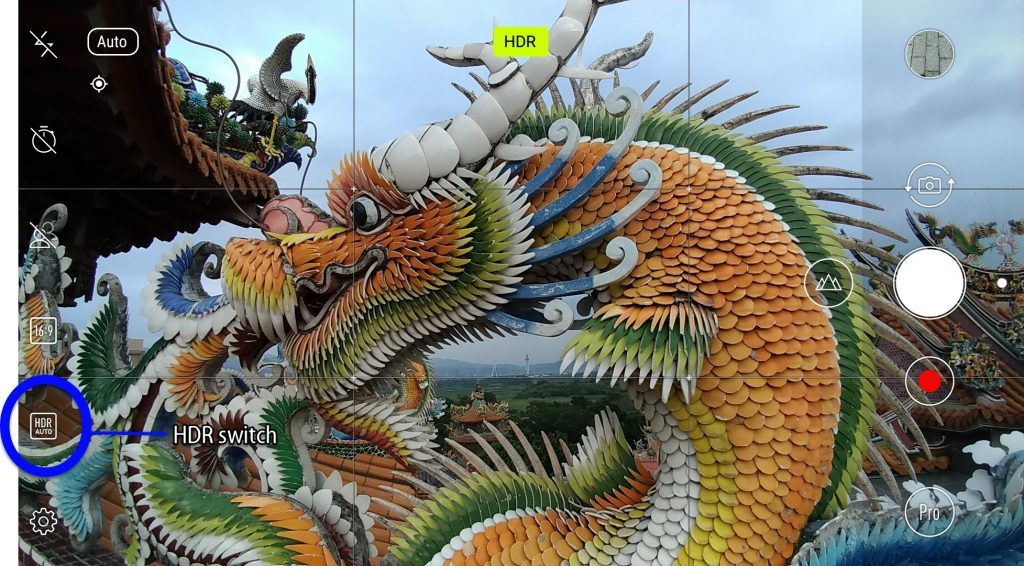 Photo dragon Zenfone 4 HDR