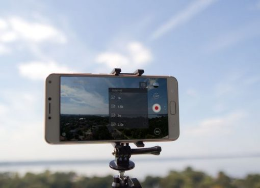 Timelapse smartphone photographie zenfone 4 max