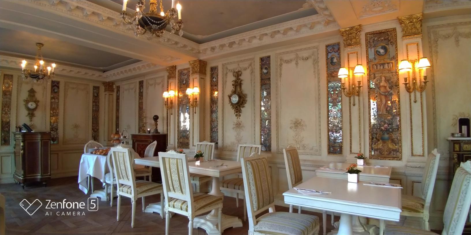 Café Pouchkine vue d'ensemble Zenfone 5