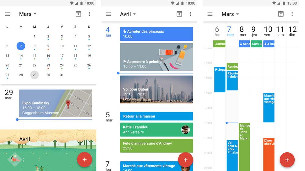 Zenfone google agenda s'organiser