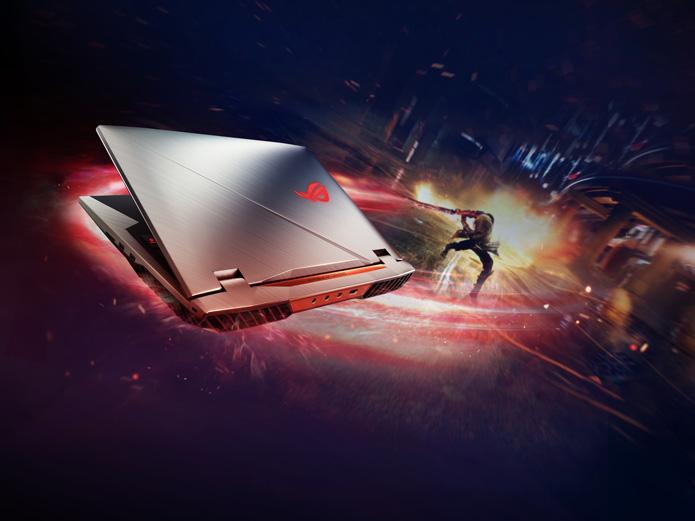 PC portable gamer noel rog chimera G703