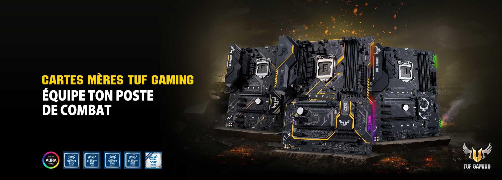 Cartes mÃères TUF Gaming Z370