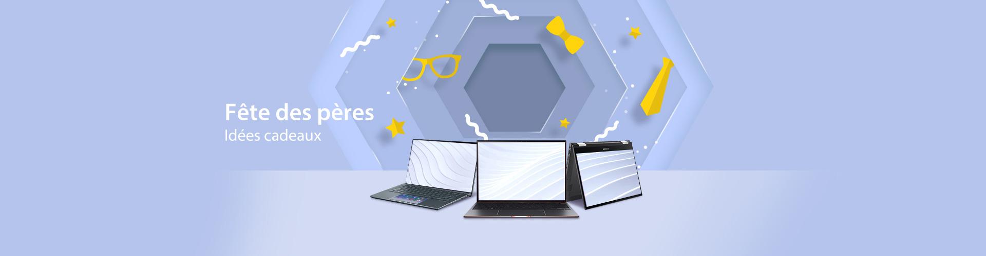 Fête des pères sélection de PC portables et PC all in one par ASUS